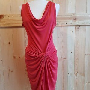 New York Company Size M Coral Jersey Dress